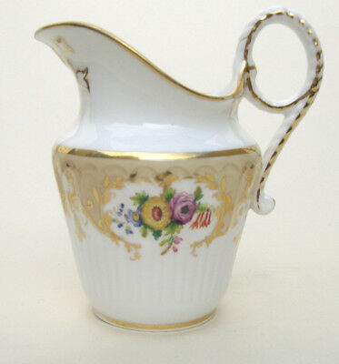 ANTIQUE  19TH CENTURY PORCELAIN JUG with iron red pattern No.