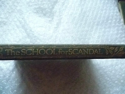 Literature- The School for Scandal by R B Sheridan, Edited J A G Bruce B A