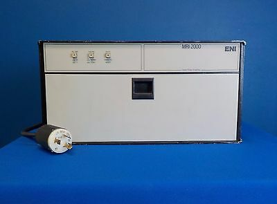 ENI MRI-2000 Linear Pulse Amplifier, 15 - 64 MHz.  RF Power Amplifier