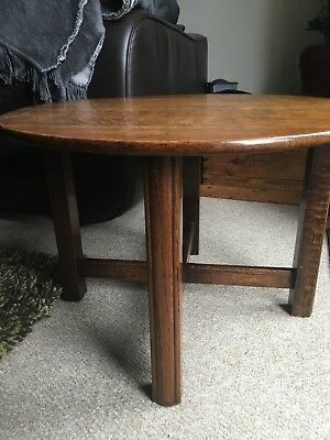 Art Deco Oak Occasional/ Coffee Table