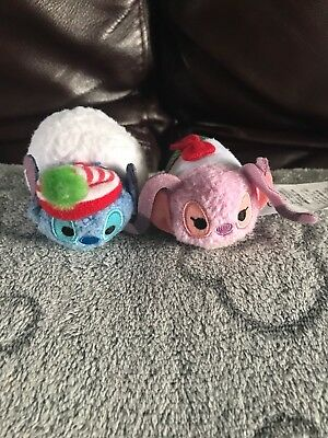 Disney Store Stitch And Angel 2017 Advent Calender Micro Tsum Tsums.