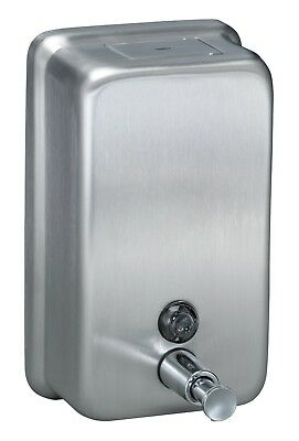 Bradley Push Button Liquid Soap Dispenser Surface-Mounted Vertical
