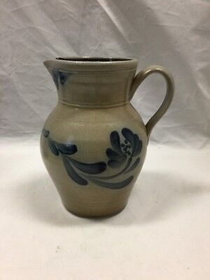 New Rowe Pottery 2003 Historical Collection Salt Glazed  Water Pitcher
