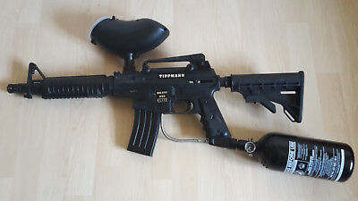 Tippmann Bravo One Elite schwarz Tactical Paintball