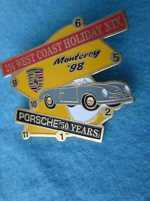Porsche 356 West Coast Holiday XIX**PIN**Monterey 1998**