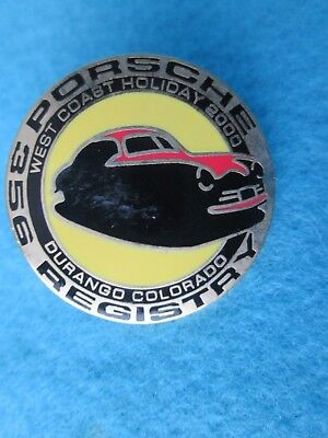 Porsche 356 West Coast  Holiday Durango Colorado 2000**Pin**