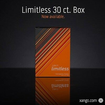 Xalo Limitless By Xango 30 Count Box New Fresh & In Stock