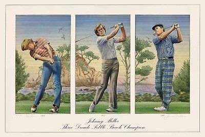 Johnny Miller Limited Edition Hand-Signed Artist Proof Lithograph