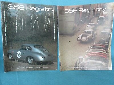 356 Registry Lot of 2**1995  May/June & July August**