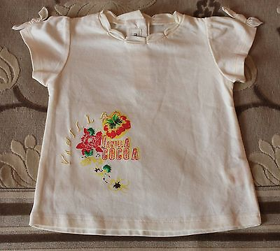 T-Shirt Fille Marese Taille 12 Mois Neuf