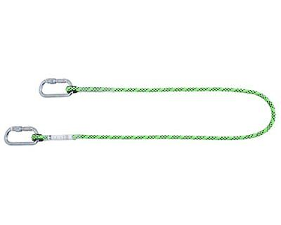 Honeywell 1032335 Miller Restraint Lanyard Kernmantel 2M with 2Cs20