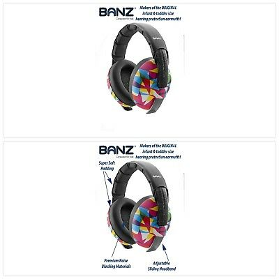 Baby Banz Earmuffs Infant Hearing Protection Ages 0-2 Years Baby Ear Protection