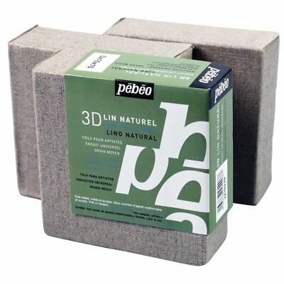 Pebeo Artist's 3D Natural Linen Canvas - All Sizes  -  Pebeo