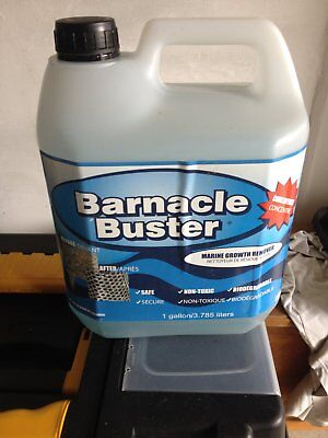 Trac Ecological Barnacle Buster Marine Growth Remover Concentrate 1Gallonx4