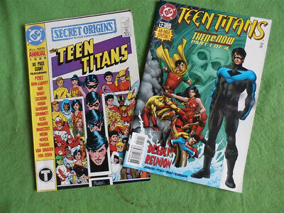 Teen Titans Then And Now &  Secret Origins Annual Featuring The Teen Titans