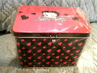 Betty Boop Red/Black (NEW) Box NEVER OPENED