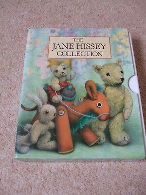 Jane Hissey Collection- 3 Book Set With Case (Miniature library) in VGC