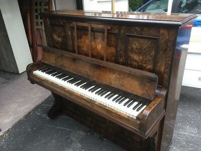 Vintage Upright Piano By J B Tolkien