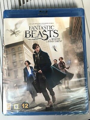 Fantastic Beasts And Where To Find Them Blu Ray Harry Potter DVD New Sealed
