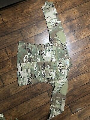 US ARMY OCP SCORPION TOP CAMO SIZE: MEDIUM LONG Pre Owned