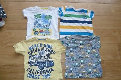 Boys bundle shorts and tshirts aged 3-4 Mothercare, Next, M&S