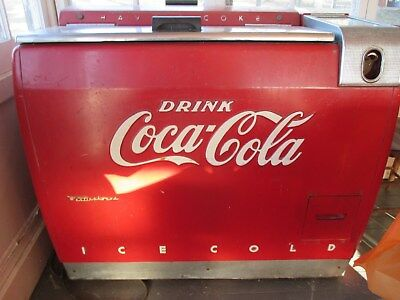 1948-50 Coca-Cola Wet Cooler / Chest, Westinghouse model WE-6.