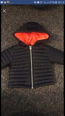 Baby Boys NEXT Puffer Jacket. Up To 3 Months