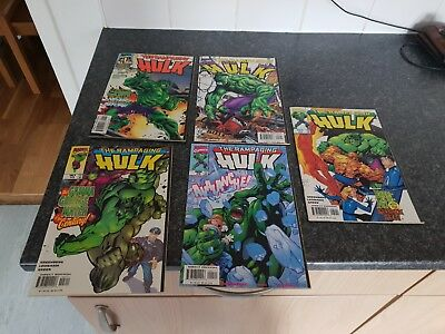 the rampaging hulk comics