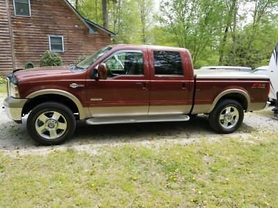 2006 Ford F-250 King Ranch 2006 Ford F-250 Super Duty King Ranch 4dr Crew Cab 4WD SB