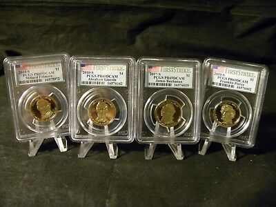 2010 S Proof Presidential Dollar Set PCGS Proof 69 DCAM First Strike