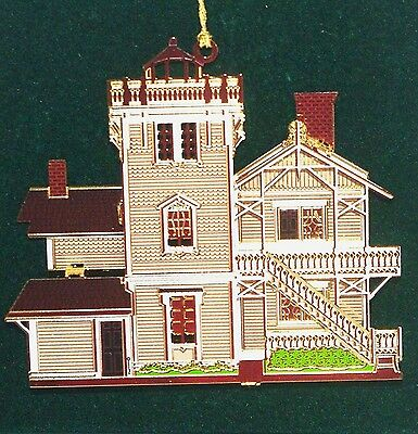 EAST BROTHER LIGHHOUSE OR008 SHELIA'S SIGNED San Francisco HISTORICAL ORN SERIES