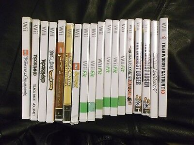 Nintendo Wii Lot *18 Games** Lego Batman, Star Wars, Pirates, Indiana Jones More
