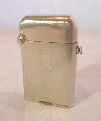 VINTAGE Baby Thorens Single Claw Push Button Top Loader Lighter Engine Turned