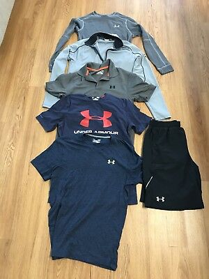 Men's Under Armour Lot Of 5 Sz Small-Med
