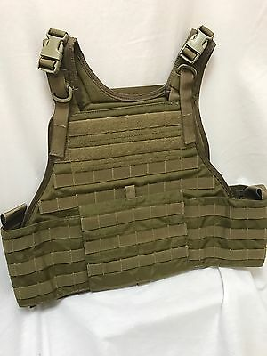 Eagle Industries Plate Carrier w/Cummerbund Coyote L/XL LE Duty FSBE
