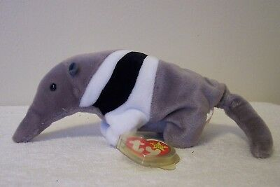 """Ty Beanie Babies Original Collection  """"ants"""" The Ant Eater"""