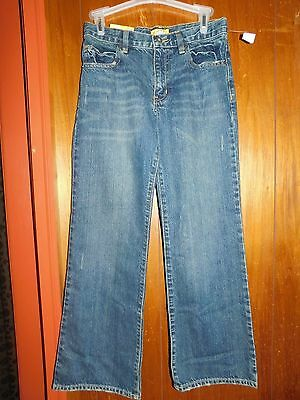 Old Navy Unisex Boot Cut Blue Jeans/size 12 Regular/new