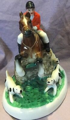 Fox Hunt Hunting Figurine  Made in Germany