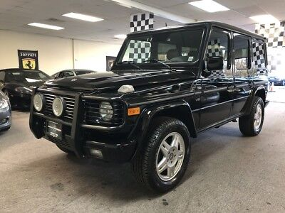 2002 Mercedes-Benz G-Class  g500 free shipping warranty 1 owner luxury clean cheap finance 4x4