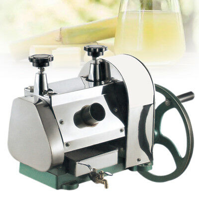 Manual Sugar Cane Juicer Sugarcane Juice Extractor Squeezer Hand Press Machine
