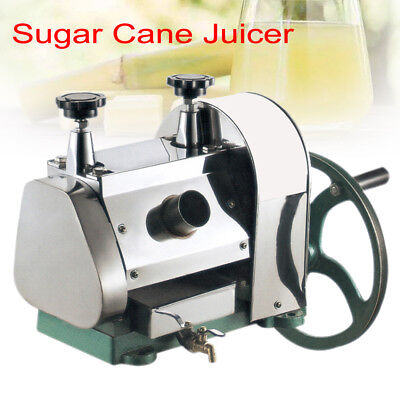 Manual Sugar Cane Press Juicer Juice Machine Commercial Extractor Squeezer FDA