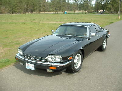 1983 Jaguar XJS  1983 Jaguar XJS V12 Coupe H.E. Low Miles! Black Beauty! Drives Great! NICE!