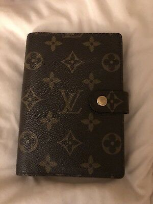 Authentic Louis Vuitton Agenda Monogram PM small ring