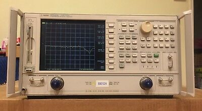 Agilent 8722ES 50 MHz to 40 GHz Vector Network Analyzer OPT 012,1D5 CALIBRATED