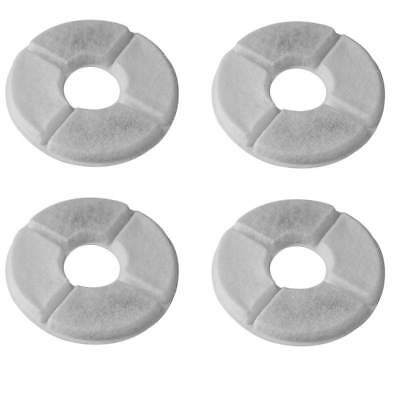 AU 4Pcs Cat Pet Dog Water Fountain Charcoal Filter for Pet Fresh Bowl Drink Dish