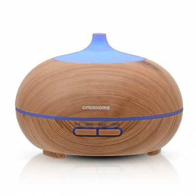 Portable Ultrasound Aromatherapy Cool Mist HUmidifier Essential Oil Diffuser