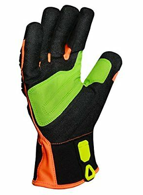 INDI-RC5-04-L Industrial Impact Rigger Cut 5 Gloves, Large