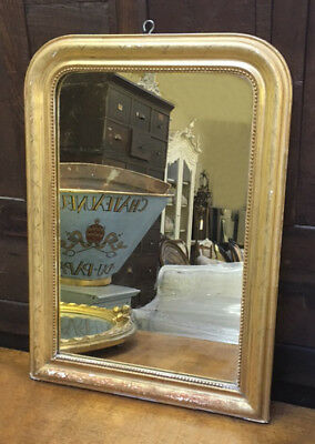 Wonderful Antique French Gilded Louis Philippe Style Mirror