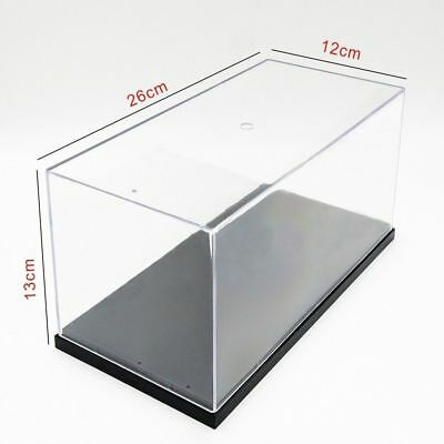Big Size Acrylic Display Box Perspex Case Self-Assembly Plastic Base Dustproof