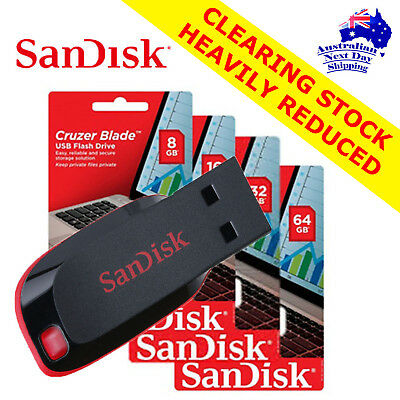 SanDisk Cruzer Blade (64GB/128GB USB!!!) PRICE DROP!!!